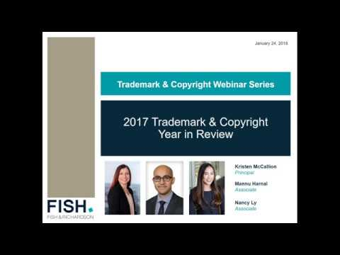 Webinar | Trademark Copyright - A Year in Review