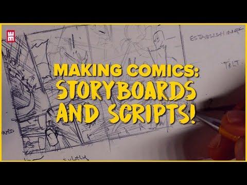 MANGA Storyboards From Script! SECRET TIPS For Making Comics