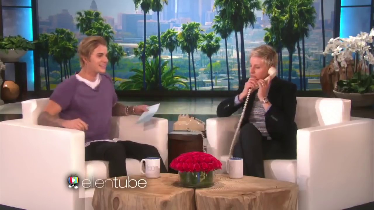 Justin Bieber Prank Calls Lil Pump On TheEllenShow - YouTube 02784443d44b1