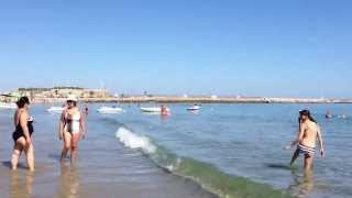 Крит, Ретимно.(Конец июня 2013г., Крит, Ретимно, прекрасное место для отдыха. Чудесная, чистая, красивая вода, народа мало,..., 2013-06-26T18:08:31.000Z)