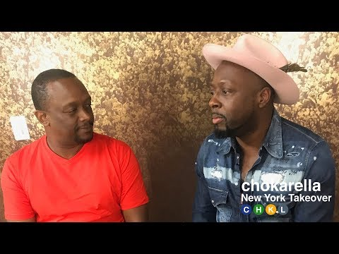 Wyclef Jean Interview @ Sony Hall  Chokarella NY Takeover