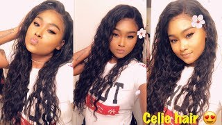 Best AliExpress hair I ever had! Celie Hair review! Brutally honest hair review!