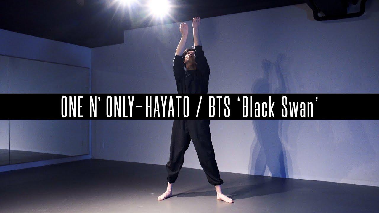 【4K】ONE N' ONLY - HAYATO/BTS 'Black Swan' DANCE PRACTICE
