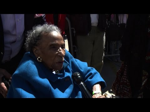 103-Year-Old Civil Rights Pioneer Joins Original Foot Soldiers, Jesse Jackson to Mark Bloody Sunday