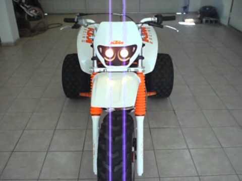 ktm three wheeler running - youtube