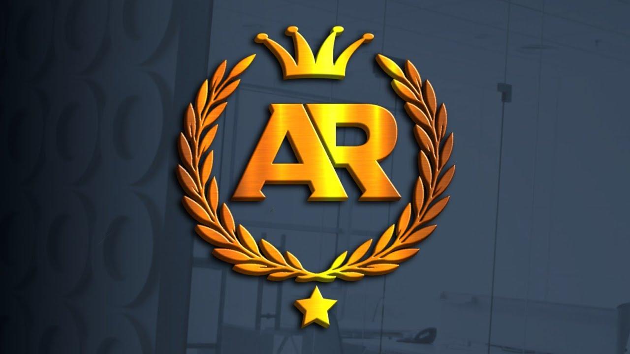 Download Logo Design Pixellab - A R Professional Logo Design How To Make On Pixellab