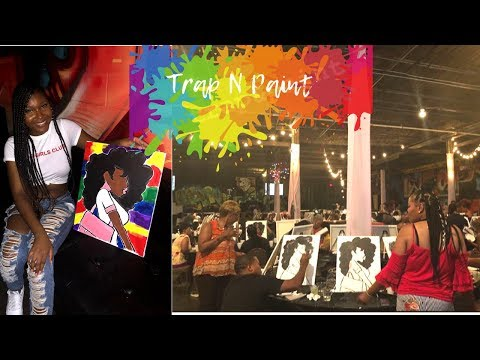 MINI VLOG | Trap N Paint