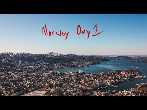 Just gonna send it! Weekend in Norway, Day 1: Bergen