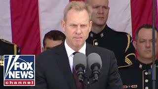 Patrick Shanahan honors heroes during Memorial Day address