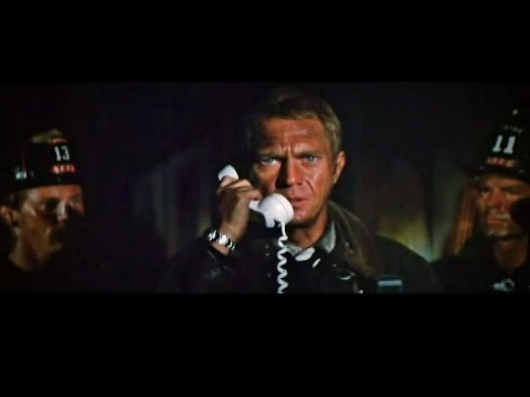 OH SHIT at The Towering Inferno: Steve McQueen at his best!