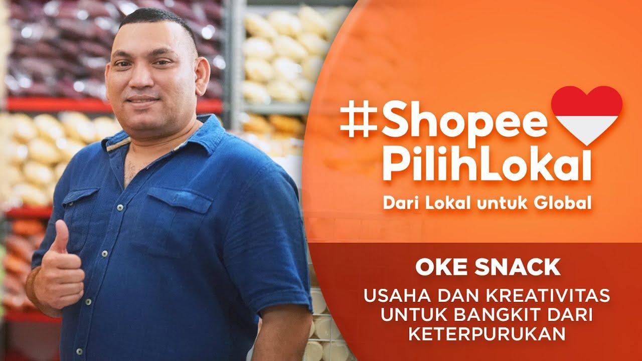 OKE SNACK: Usaha dan Kreativitas untuk Bangkit dari Keterpurukan | Shopee Pilih Lokal