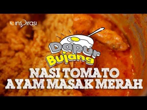 #DapurBujang Ramadhan - Nasi Tomato.