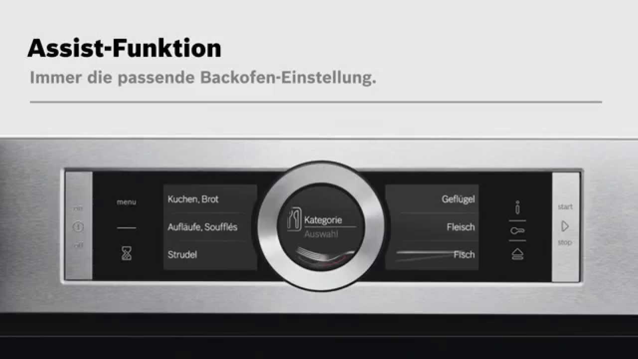 bosch sensor backofen