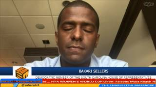 If You Cant Be Black In A Church In America, Where Can You Be Black - Bakari Sellers