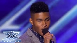 "Rickey Clark Jr is Feeling A Little ""Superstitious""  - THE X FACTOR USA 2013"