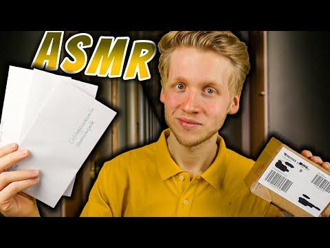 ASMR | POSTBOTE Liefert Dir Briefe Und Ein Paket! (Roleplay)