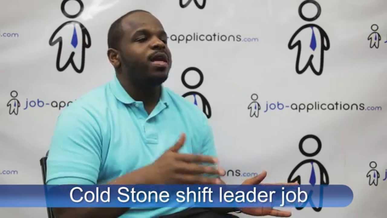 cold stone creamery job application pdf