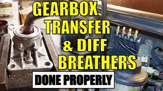 DIFF, BOX & TRANSFER BREATHERS - HOW & WHY | HILUX SURF