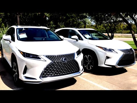 New 2020 Lexus RX350 vs 2019 RX350
