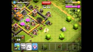 angel rush -clash of clans