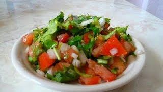 Receta De Salsa Pico De Gallo... En 1-2-3
