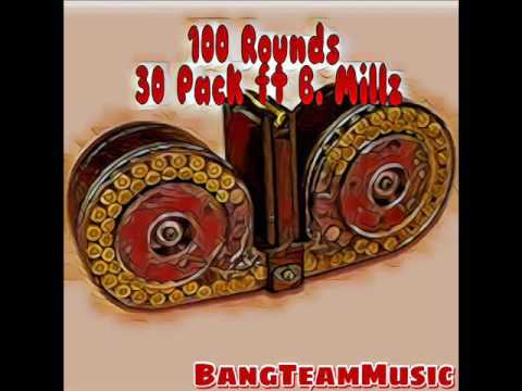 30 Pack Ft Bmillz 100 rounds