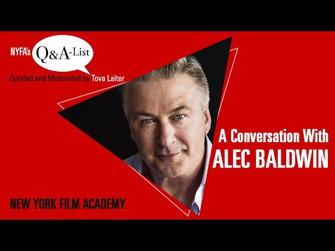 NYFA's Q&A-List with Award-Winning Actor Alec Baldwin (Curated ...