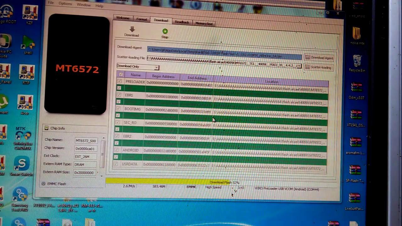 تعريب how to flash alcatel OT-4009x + arabic - الصفحة 1