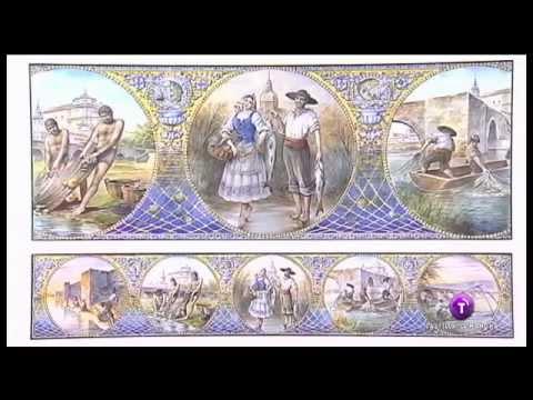 Mural de cer mica para talavera de la reina youtube - Talavera dela reina ceramica ...