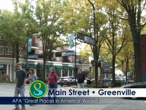 "Greenville's Main Street wins ""Best Places in America"" Award"