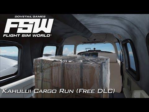 Flight Sim World | Kahului Cargo Run FREE DLC | Early Access