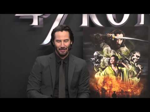 Keanu Reeves Talks About 47 Ronin pt 1