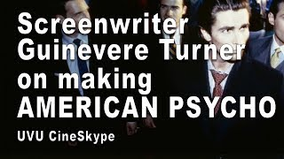 "Gambar cover Screenwriter Guinevere Turner on making ""American Psycho"" - UVU CineSkype"