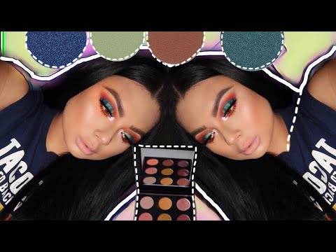 Colorful makeup look thumbnail