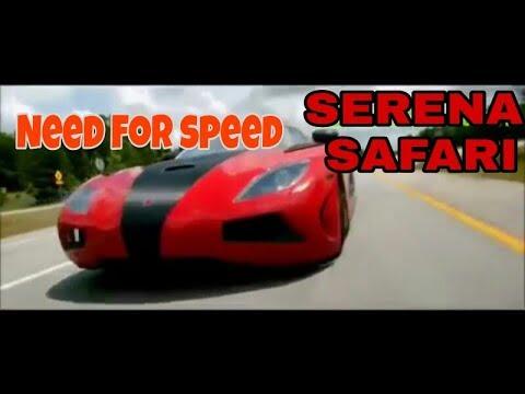 Serena Safari Songs Super Car Racing Amazing