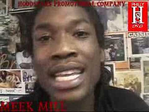 PHILLY HOODSTARS DVD VOL.1 MEEK MILL NEW