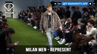 Represent Milan Men Fashion Week Fall/Winter 2018-19 English roots Collection | FashionTV | FTV