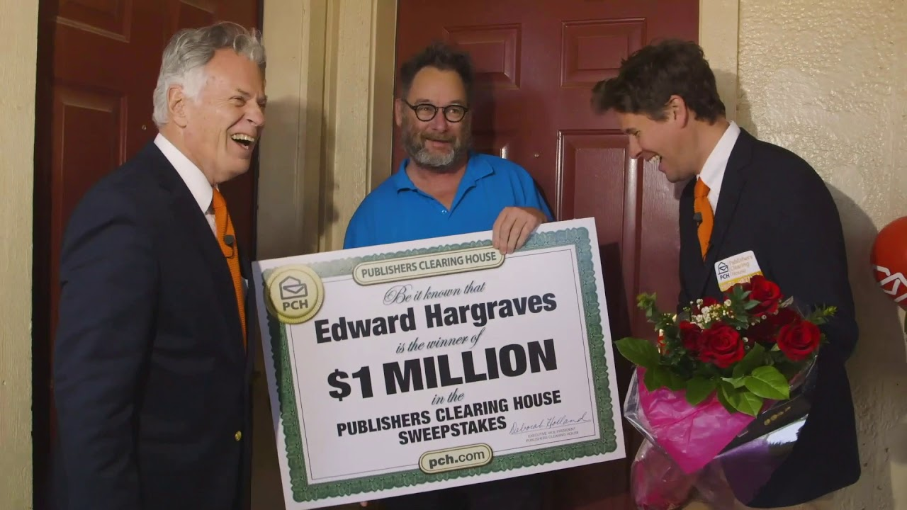 Publishers Clearing House Winners: Edward Hargraves From Oklahoma City, OK  Wins $1 Million