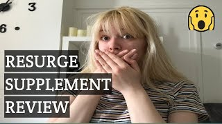 Resurge Supplement My Real Review 2020 results And side effects Does Resurge Really Work?