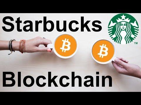 Starbucks ☕ To Begin Blockchain Pilot Project