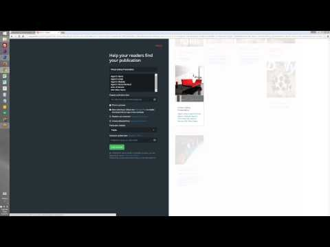 Use ISSUU.com to create an Online Magazine