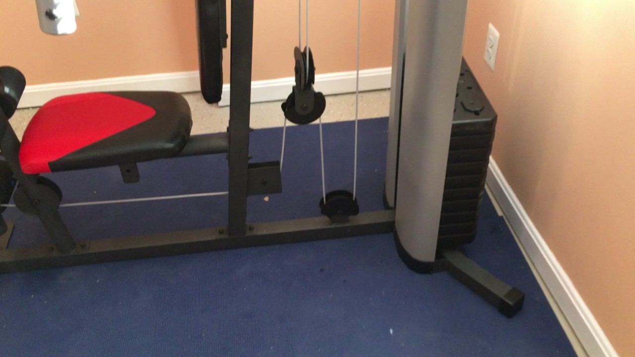 Weider home gym installation service by dave song of furniture