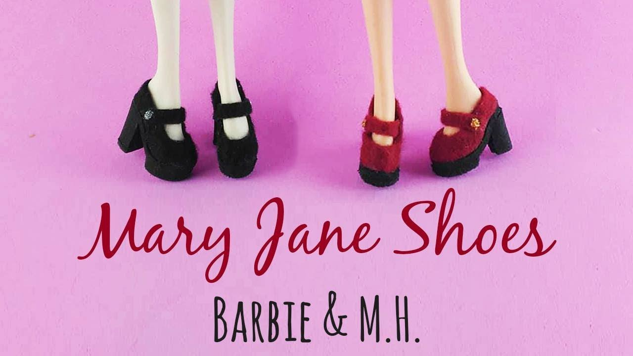 DIY: Mary Jane Doll Shoes/ Tutorial