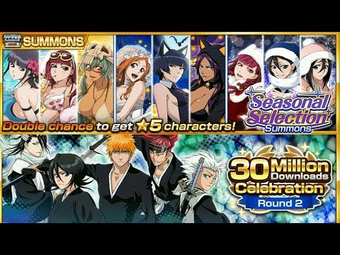 Bleach Brave Souls: 30M Round 2 e Summons Double Chance Seasonal - Omega Play