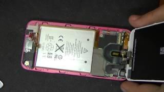 iPod 5  замена системной платы