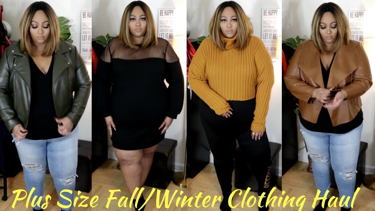 18ed7152dbb HUGE Plus Size Fall Winter Clothing Haul 2018  Forever 21 ...