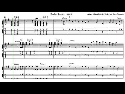Dualing Banjos Sheet Music Erkalnathandedecker