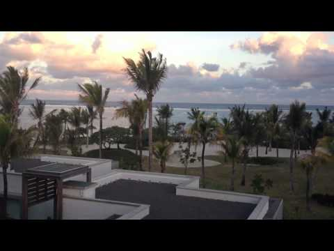 View from my room @ Long Beach Mauritius