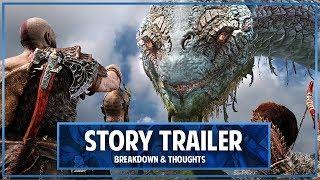God Of War Story Trailer Breakdown & Thoughts
