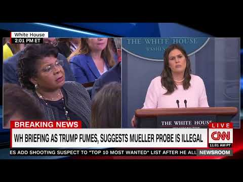 Huckabee Sanders to Reporter: 'I'm Not Going to Think What You Think'
